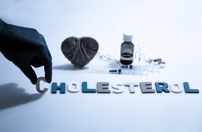 cholesterol imagem de stock royalty free