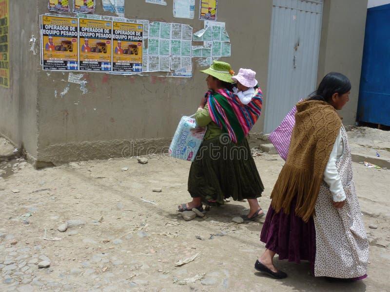 Cholitas στοκ φωτογραφία