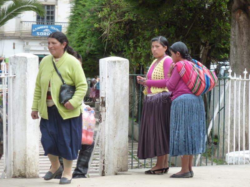 Cholitas fotografia de stock royalty free