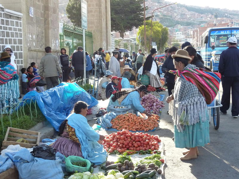 Cholitas fotografia de stock