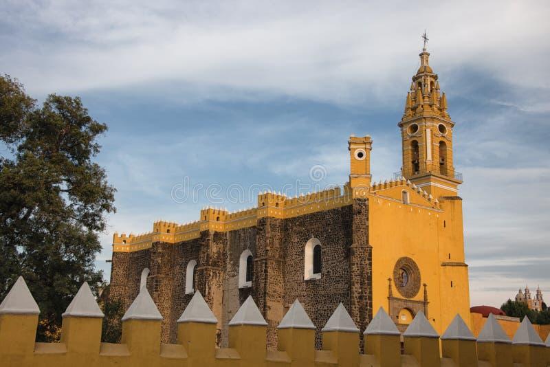 Cholula,墨西哥 库存图片