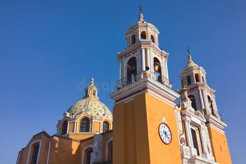 Cholula,墨西哥 免版税库存图片