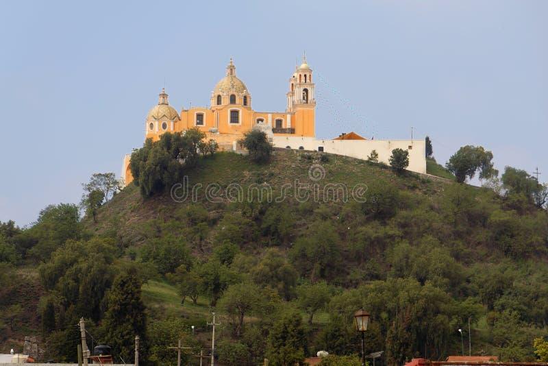Download Cholula Church Nuestra Senora De Los Remedios Stock Image - Image: 3025239