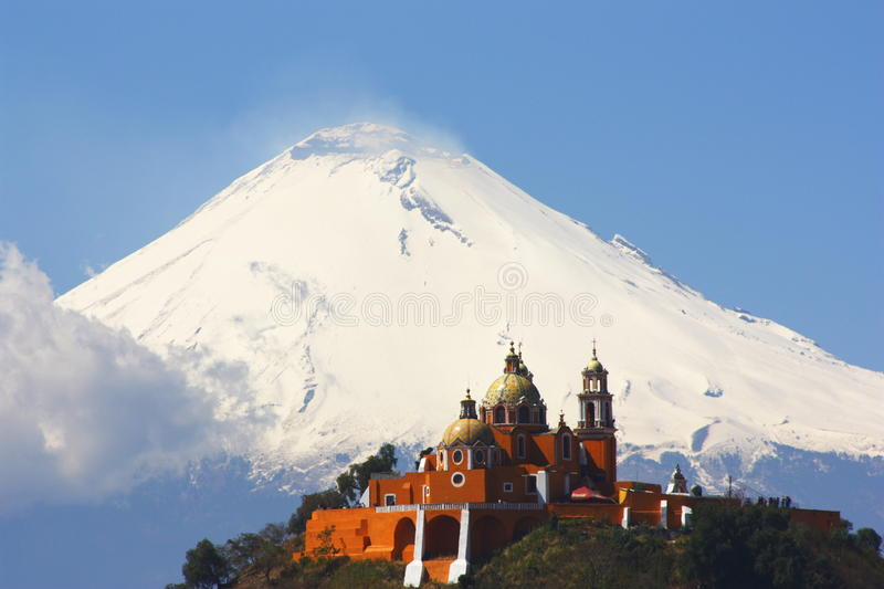 Cholula III foto de stock royalty free