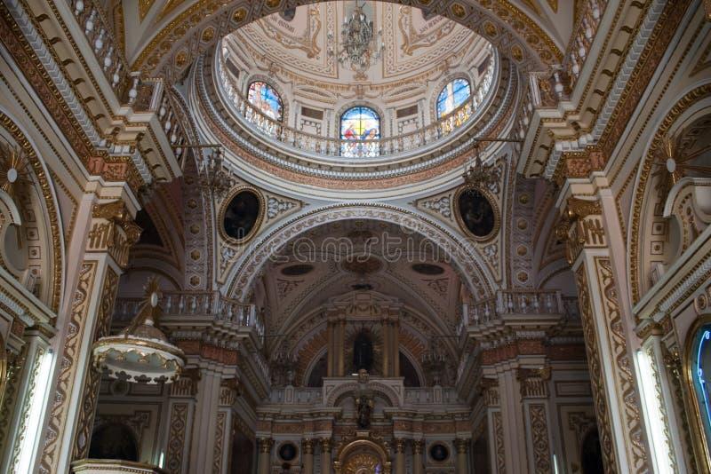 cholula kościół zdjęcia royalty free