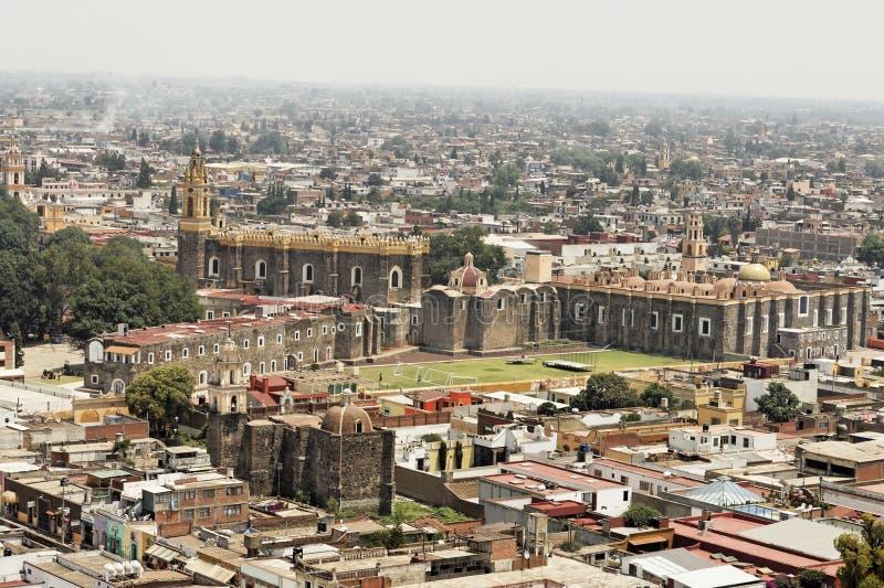 Cholula - Mexiko stockfotografie