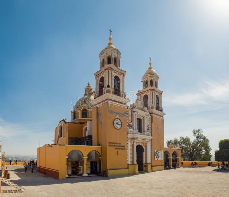 Cholula, Mexique, église de Señora de los Remedios photo libre de droits