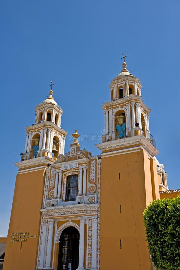 Cholula, Puebla (Mexique) photographie stock libre de droits