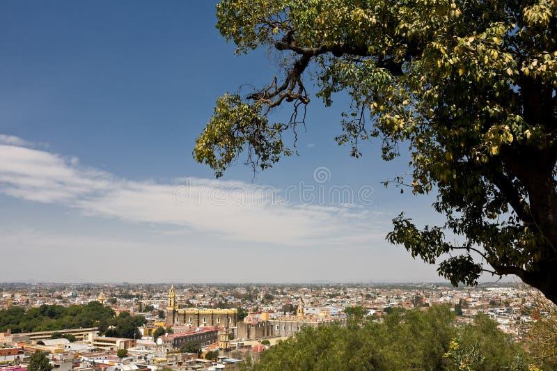Cholula, Puebla (Mexique) photo libre de droits