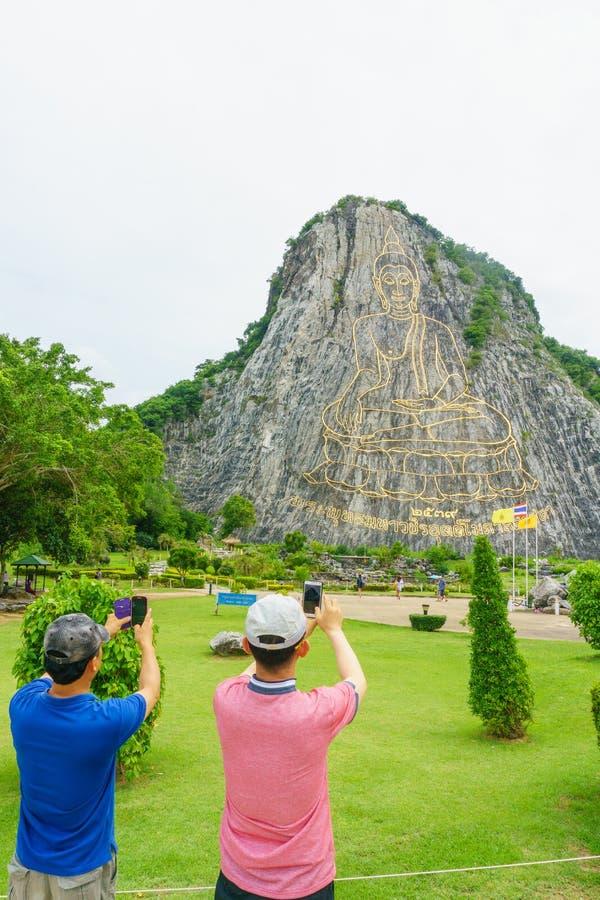 Chonburi, Thailand - 6. Juli 2016: Khao Chee Chan Pattaya Thailand lizenzfreies stockbild