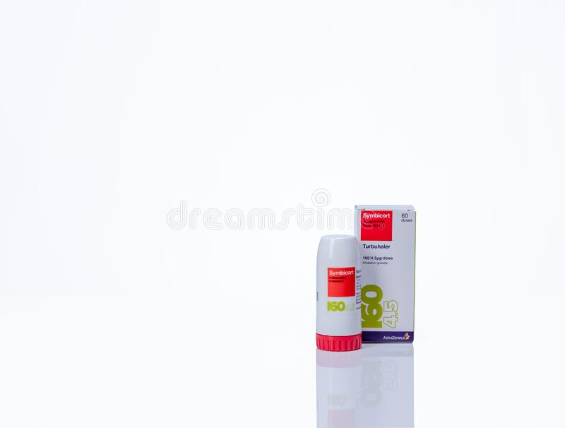 Chonburi Thailand March 28 2020 Symbicort Turbuhaler Product Of Astrazeneca Medicine For Treatment Asthma Copd And Editorial Stock Image Image Of Lung Background 179828244