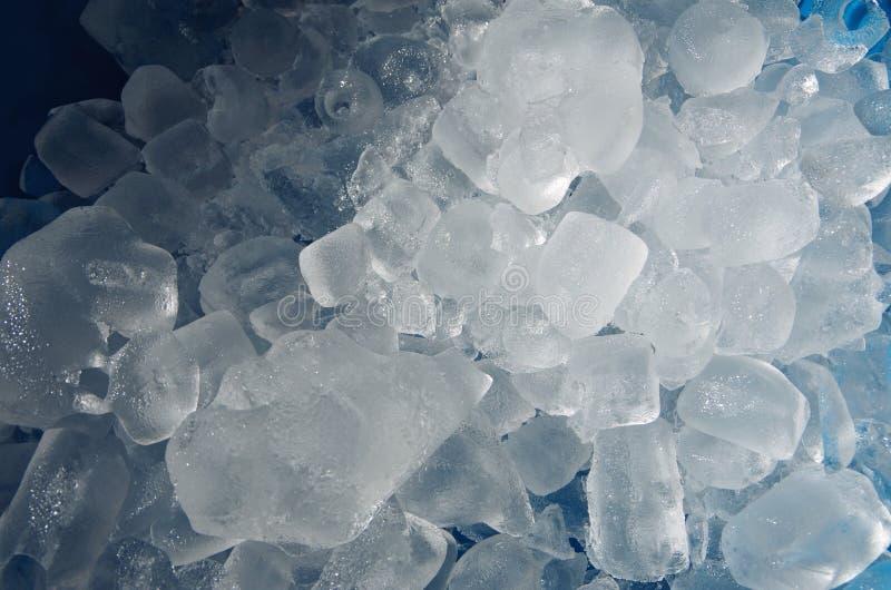 Choncs de cuillères glacées photographie stock