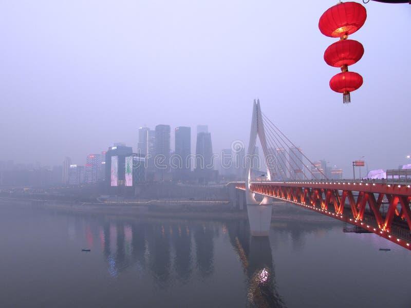 Chongqing Bridge fotos de archivo
