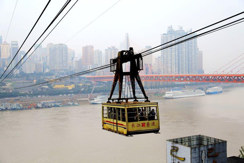 Chongqing Cableway photos stock