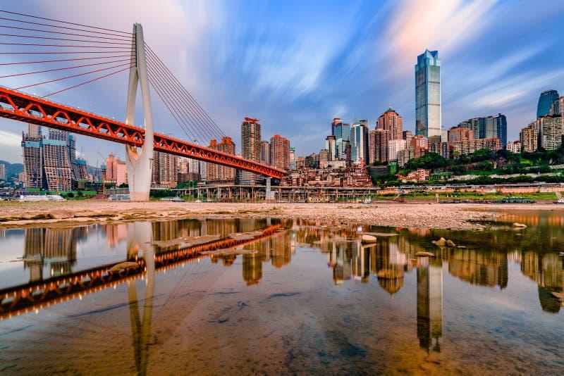 Chongqing City. Chongqing is a mountian city, Yangtze River around the city, We call Chongqing as the River and Mountain City royalty free stock photos