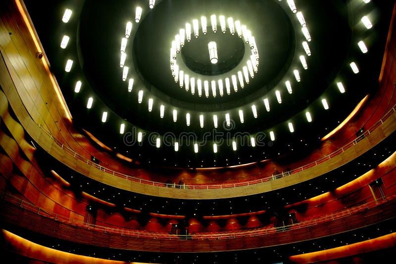 Chongqing Grand Theatre-koepel royalty-vrije stock afbeelding