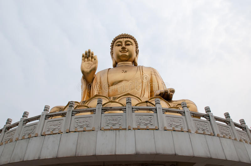 Chongqing HuaYan Buddha temple stock image