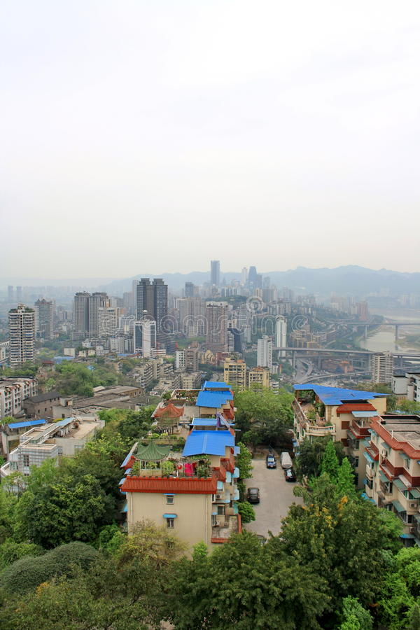 Chongqing. La Cina. fotografia stock libera da diritti