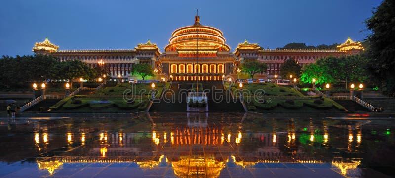 Chongqing-Leute Hall stockfoto