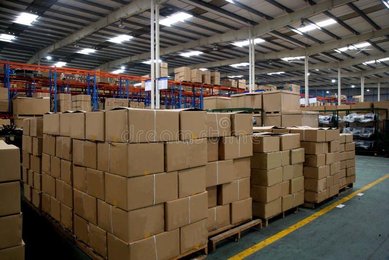 Chongqing Minsheng Logistics Auto Parts-Lager stockbilder
