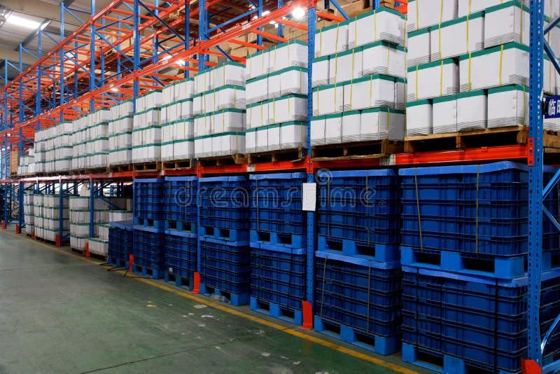 Chongqing Minsheng Logistics Auto Parts Warehouse stock image