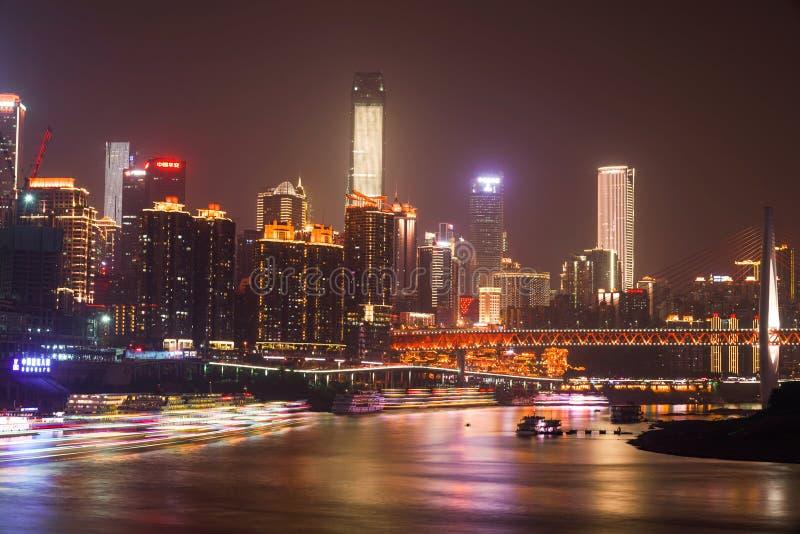 Chongqing night view stock images