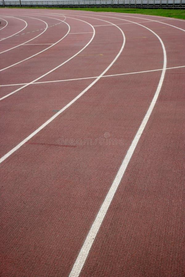 Chongqing Olympic Sports Center landningsbana royaltyfri fotografi