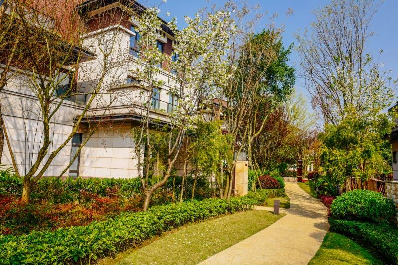 Chongqing real estate. Luxurious real estate home ,chongqing,China stock photo