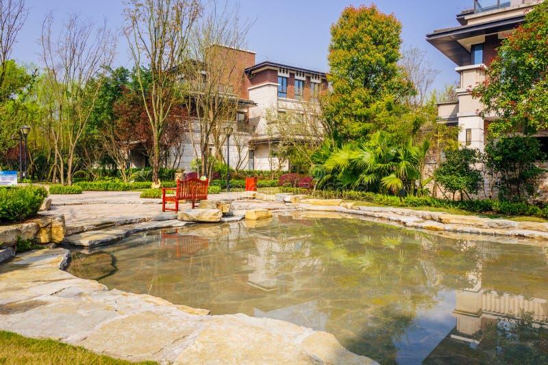 Chongqing real estate. Luxurious real estate home ,chongqing,China stock image