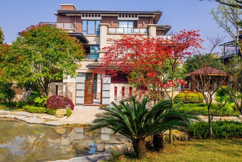 Chongqing real estate. Luxurious real estate home ,chongqing,China royalty free stock photos