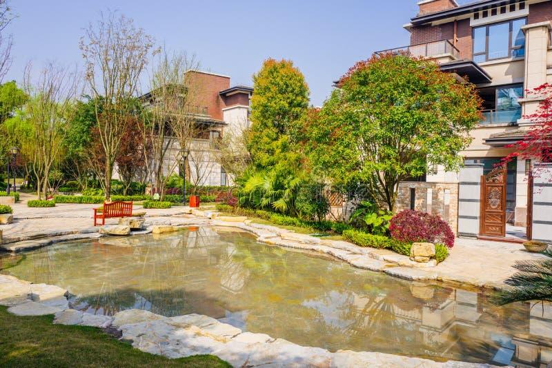 Chongqing real estate. Luxurious real estate home ,chongqing,China royalty free stock image