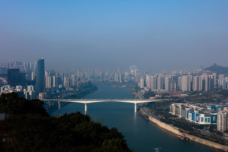 Chongqing sceneria zdjęcie royalty free
