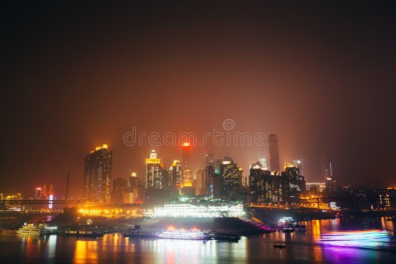 Chongqing Skyline foto de archivo libre de regalías