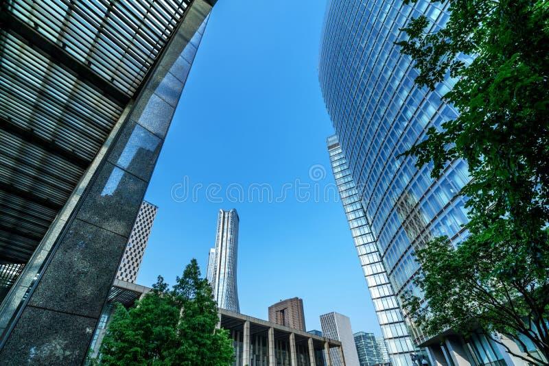 Chongqing skyscrapers royalty-vrije stock foto