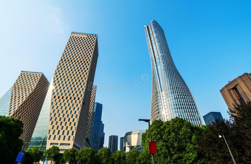 Chongqing skyscrapers stock fotografie