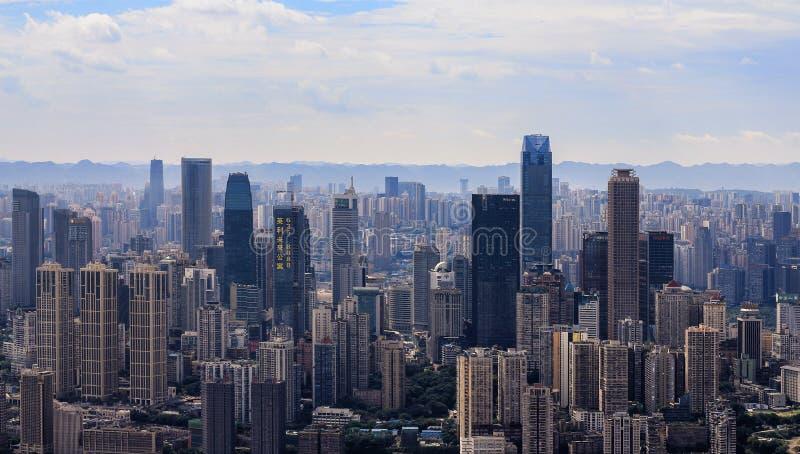 Chongqing una città cinese immagine stock