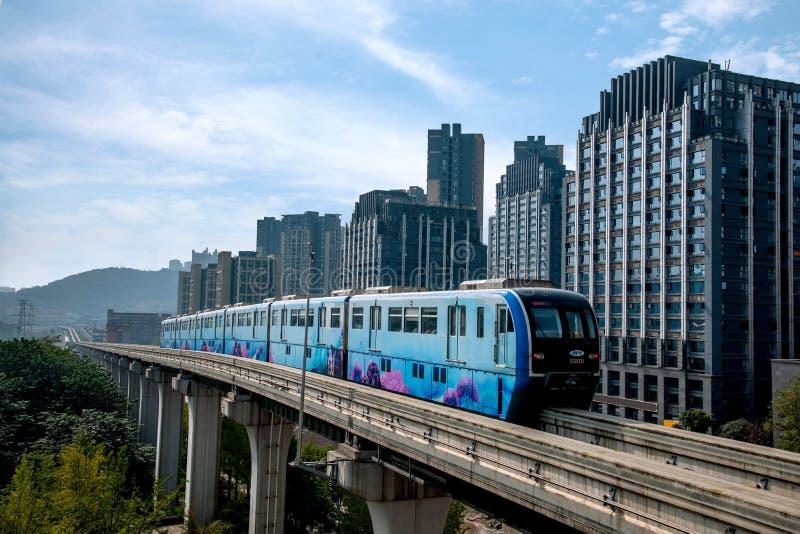 Chongqing Urban Rail Transit fotografie stock