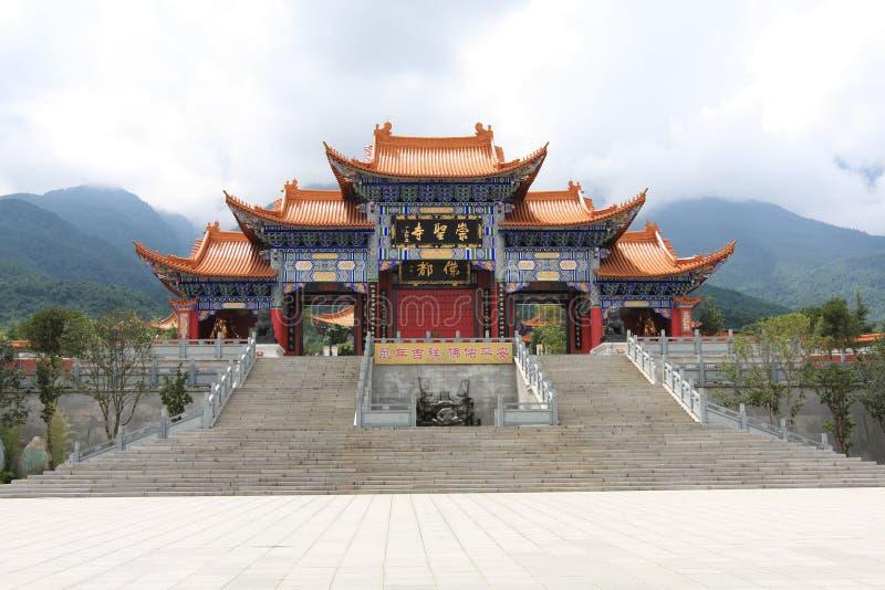 chongsheng świątyni obraz royalty free