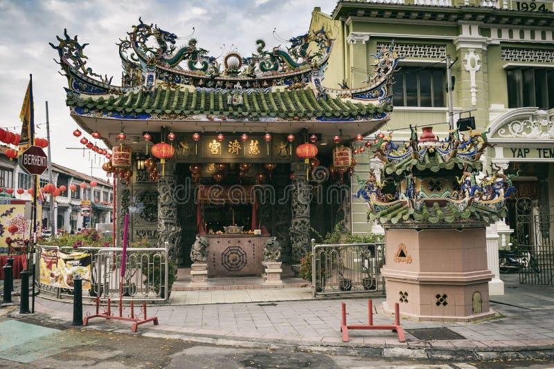Choo Chay Keong Temple fotos de stock