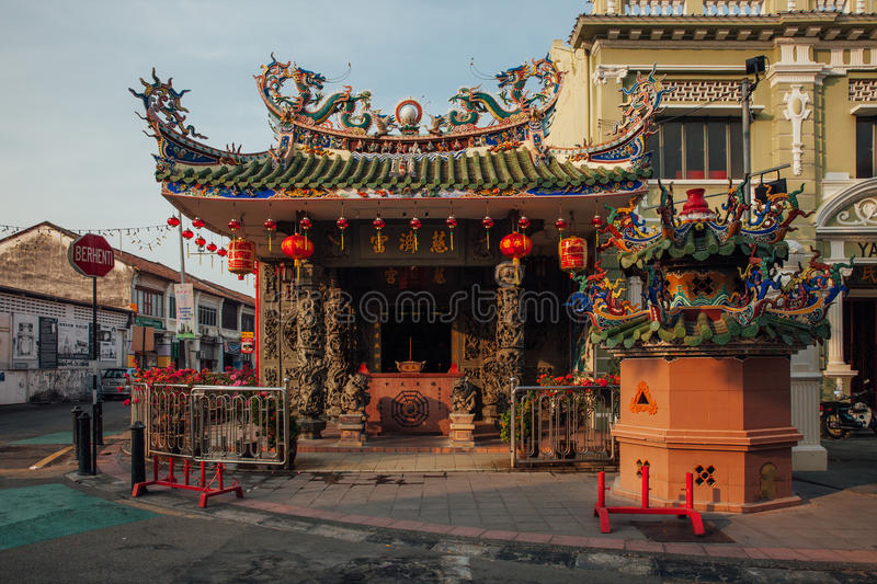 Download Choo Chay Keong Temple, Penang, Malaysia Editorial Stock Image - Image of heritage, destination: 85340649
