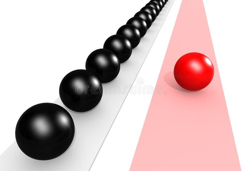 Download Choose correct way stock illustration. Illustration of challenge - 26684119