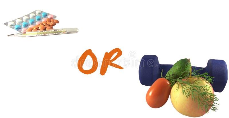 Choosing health or illness