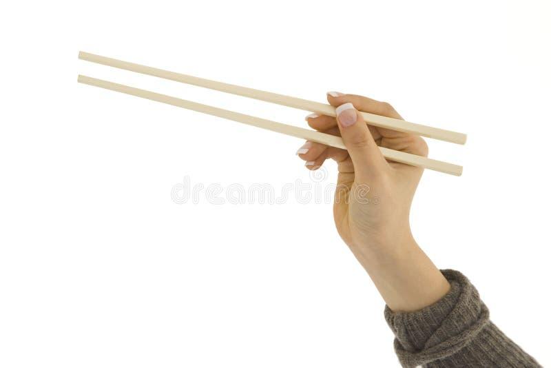 Chop Sticks royalty free stock photo