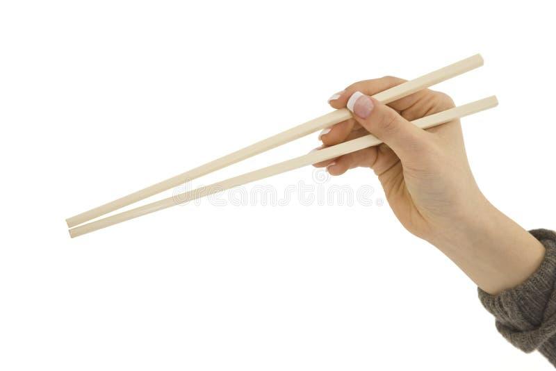 Chop Sticks royalty free stock image