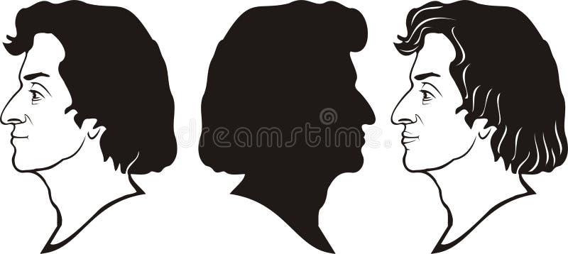 Chopin royalty illustrazione gratis