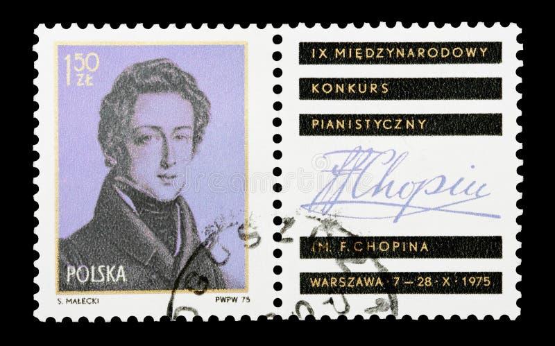 Chopin foto de archivo libre de regalías