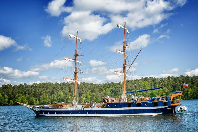 Chopin Ship stock photography