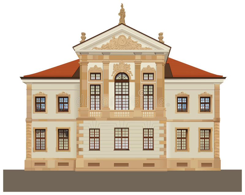 Download Chopin State Museum In Warsaw Stock Vector - Illustration of drawing, front: 14333603