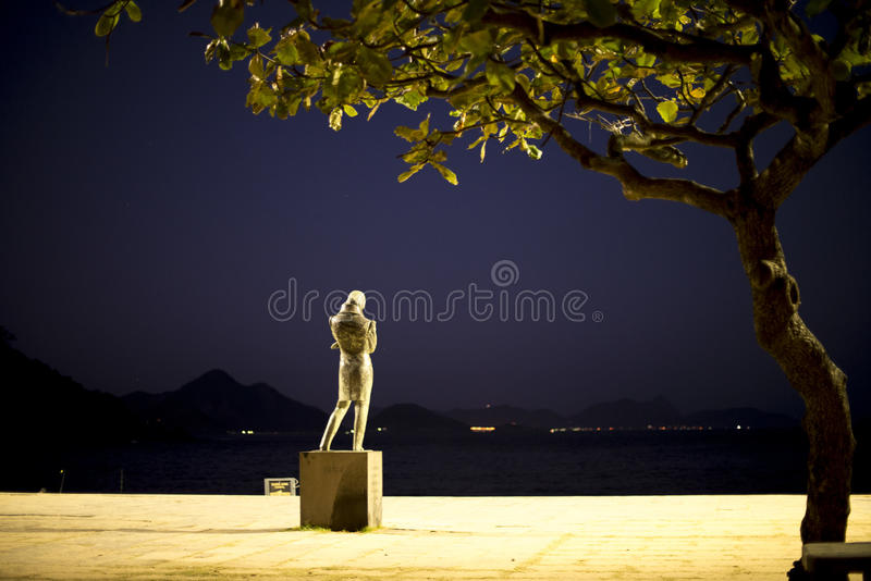 Chopin-Statue lizenzfreies stockbild