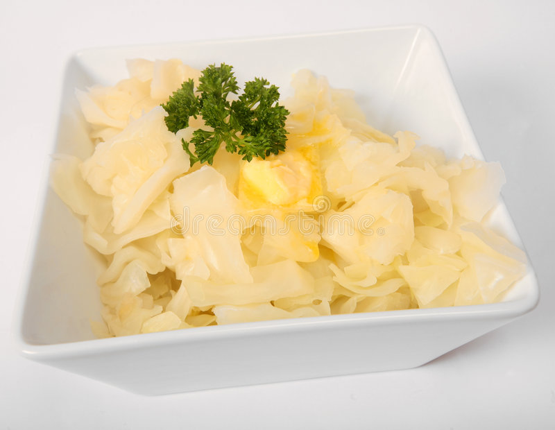 Download Chopped Boiled White Cabbage Stock Photo - Image: 6374472